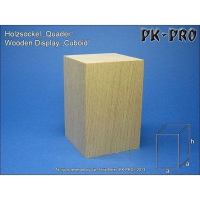 CP-Holzsockel-Quader-40x40x60mm - PK-Pro