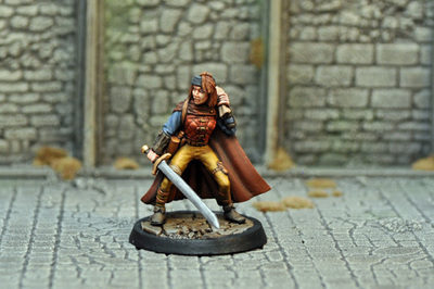 DAH15 – Human Female Thief - Otherworld Miniatures