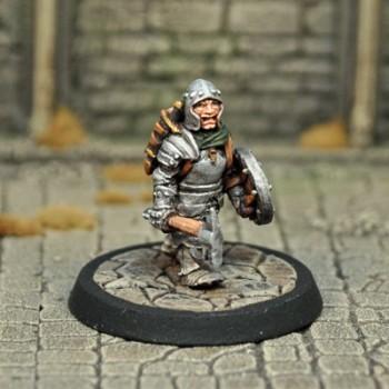 DAD11 – Male Halfling Fighter - Otherworld Miniatures