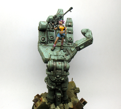 Ana Bot Hunter Limited Edition - Ammon Miniatures