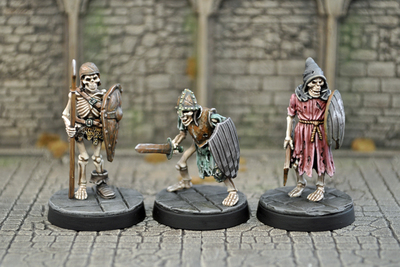 UD2a – Armoured Skeletons I (3) - Otherworld Miniatures