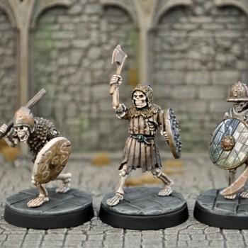 UD2b – Armoured Skeletons II (3) - Otherworld Miniatures