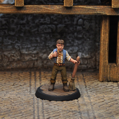 NPCT6 – Stable Boy - Otherworld Miniatures