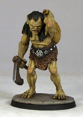 OG3 – Ogre Warrior III - Otherworld Miniatures