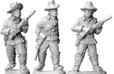 Buffalo Soldiers with Carbines (foot) - Wild West - Artizan Designs