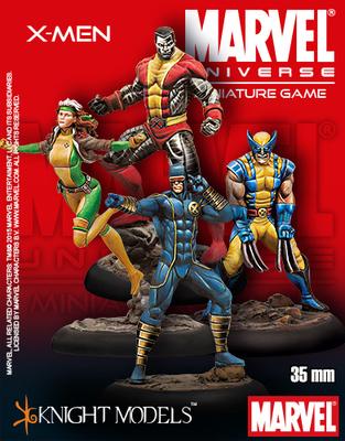 X-Men Starter Set - Marvel Universe Miniature Game
