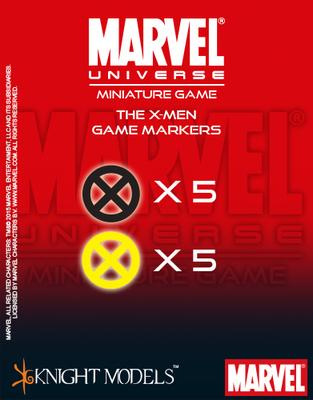 X-Men Markers - Marvel Universe Miniature Game