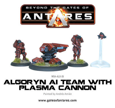 Algoryn AI Team With Plasma Cannon - Beyond The Gates Of Antares