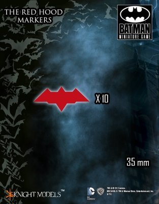 Red Hood Marker - Batman Miniature Game