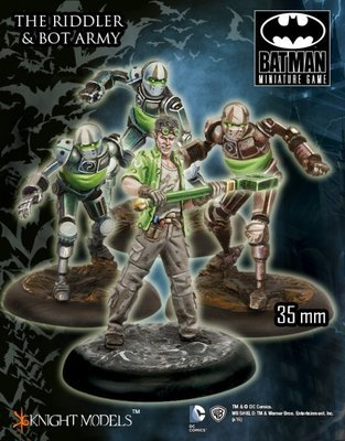 The Riddler and Bot Army - Batman Miniature Game