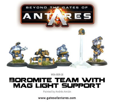 Boromite Team with Mag Light Support - Beyond The Gates Of Antares