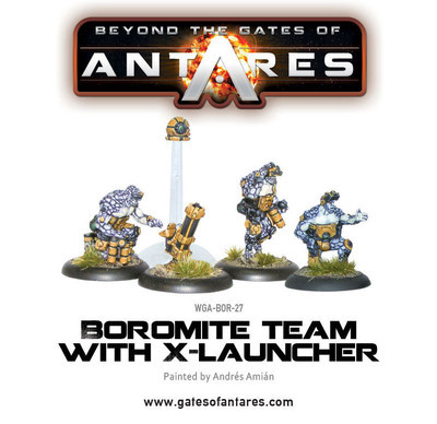 Boromite X-Launcher & Team - Beyond The Gates Of Antares