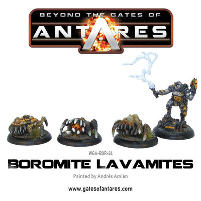 Boromite Lava Mites - Beyond The Gates Of Antares