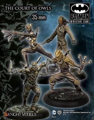 The Court Of Owls - Batman Miniature Game