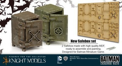 Safe Box Set - Batman Miniature Game