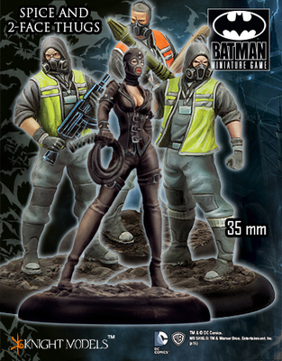 Spice and Two-Face Thugs - Batman Miniature Game