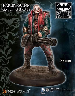 Gatling Brute (Harley Crew) - Batman Miniature Game