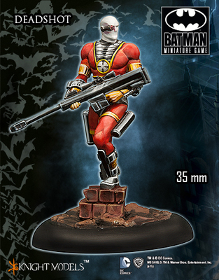 Deadshot Comic - Batman Miniature Game