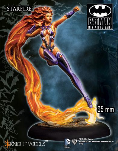 Starfire - Batman Miniature Game
