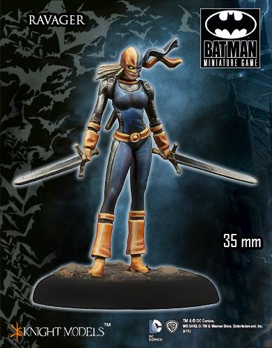 Ravager - Batman Miniature Game