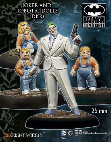 Joker and Robotic Dolls - Batman Miniature Game