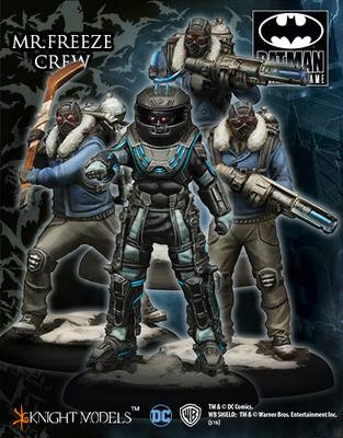 Mr Freeze Crew - Batman Miniature Game