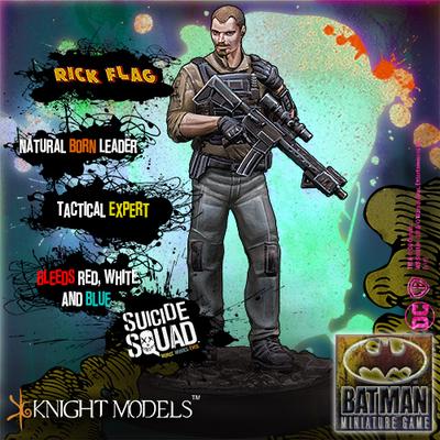 Rick Flag - Batman Miniature Game