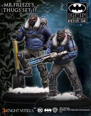 Mr Freeze Thug Set I  - Batman Miniature Game