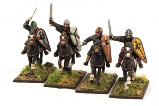 Norman Knights (Hearthguard) (4) - SAGA - Normannen
