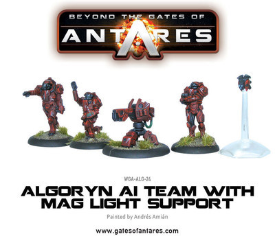 Algoryn AI Team with Mag Light Support - Beyond The Gates Of Antares
