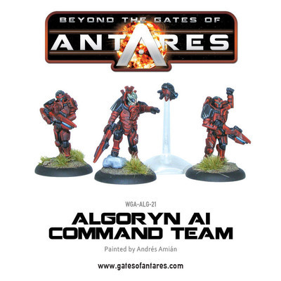 Algoryn Command Team - Beyond The Gates Of Antares
