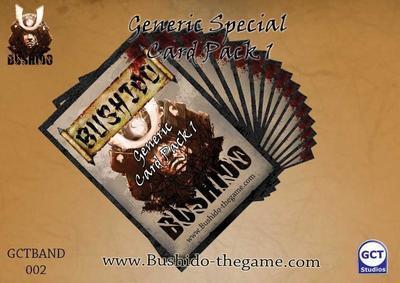 Generic Card Pack 1 - Bushido