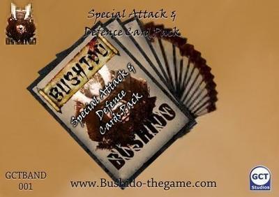 Attack & Defence Cards - Bushido