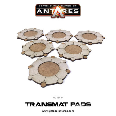 Transmat Pads - Beyond The Gates Of Antares
