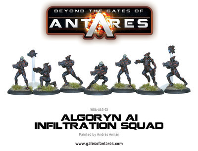 Algoryn AI Infiltration Team - Beyond The Gates Of Antares