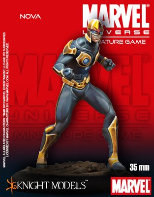 Nova - Marvel Universe Miniature Game