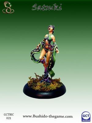 Satsuki, Orochi Priestess - Bushido
