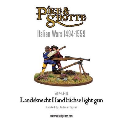 Landsknecht Handbuchse light gun - Pike&Shotte - Warlord Games