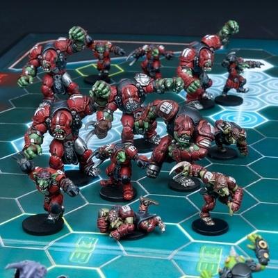 DreadBall Greenmoon Smackers Marauder Team Box (13 Figuren)