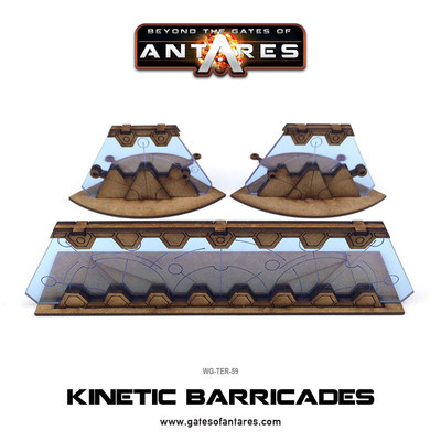 Kinetic Barricades - Beyond The Gates Of Antares