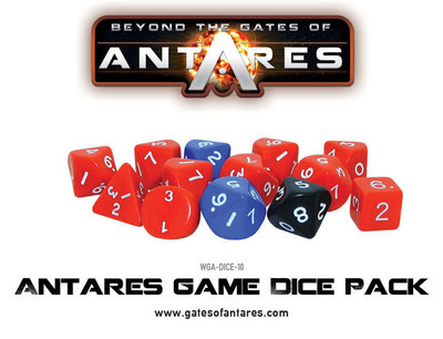 Antares Game Dice Pack - Beyond The Gates Of Antares