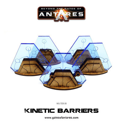 Kinetic Barriers - Beyond The Gates Of Antares