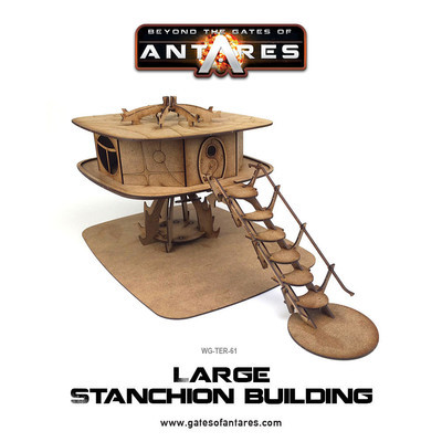 Large Stanchion Building - Beyond The Gates Of Antares