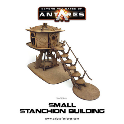 Small Stanchion Building - Beyond The Gates Of Antares