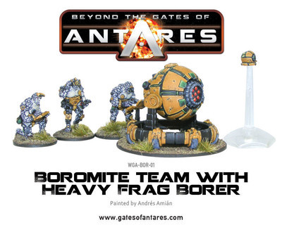 Boromite Team with Heavy Frag Borer - Beyond The Gates Of Antares