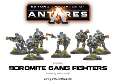 Boromite Gang Fighters - Beyond The Gates Of Antares