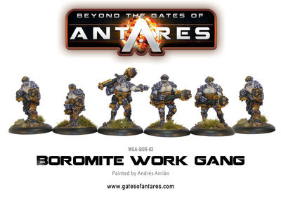 Boromite Work Gang - Beyond The Gates Of Antares