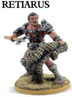Retiarus Gladiator - JUGULA Figur (english)