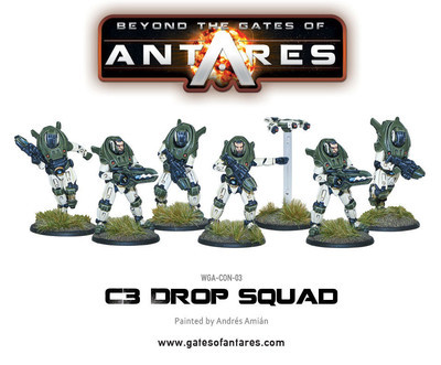 Concord C3 Drop Squad - Beyond The Gates Of Antares