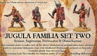 Familia Set Two - JUGULA Figur (english)